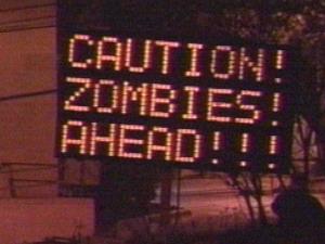 Zombie-warning