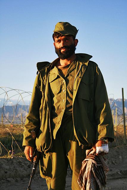 Afghan guard