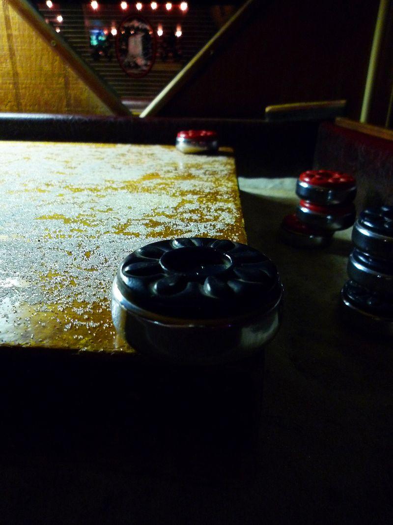 Shuffleboard victory