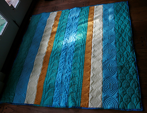 Whole quilting